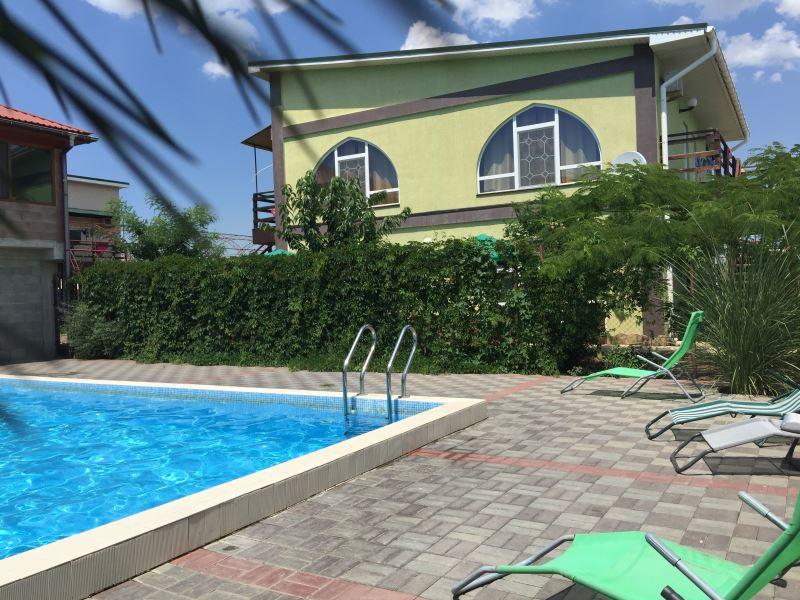Отдых в Поповке с бассейном