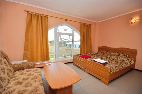 Номерной фонд гостиницы Поповки