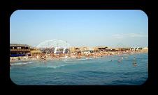 Чистый пляж в 10 минутах от гостевого дома Миа Стелла